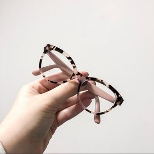 Prada Pink Tortoise Shell RX Glasses Frames